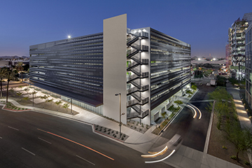 Image for Parking Magazine: Phoenix Biomedical Campus Garage Beats Desert Heat
