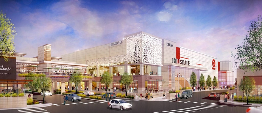 Image for Hillsdale Mall North Expansion Parking Garage Re-imagined