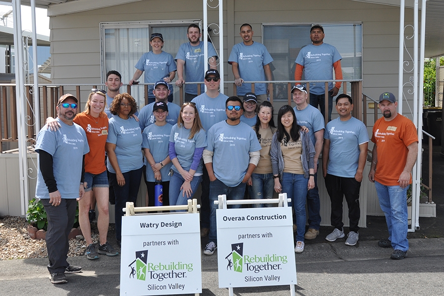 Image for Watry Design Gives Back on National Rebuilding Day