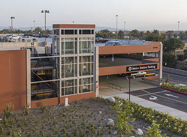 Image for Metro Gold Line Irwindale Station Parking Structure