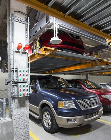 Image of Stacking the Deck: How Automated Parking Does More With Less
