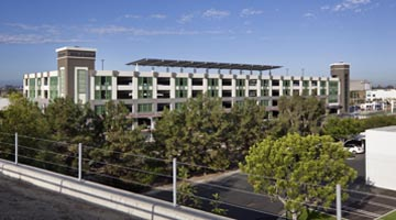 Image of Tustin Metrolink Parking Structure