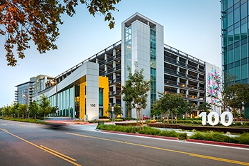 Image of Menlo Gateway Parking Structure & Fitness Center