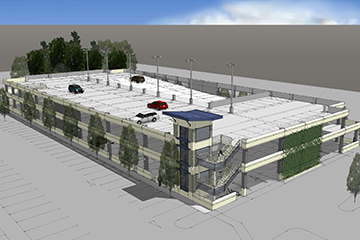 Image for Century Centre Parking Structure