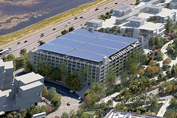 Image for Facebook Corporate Campus Parking Structure