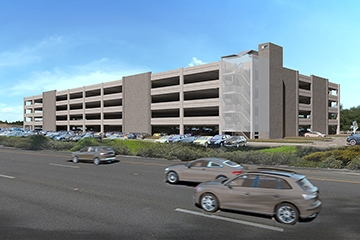 Image for Mineta San Jose International Airport Economy Lot Parking Garage
