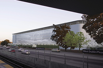 Image for Workday Corporate Campus Parking Structure