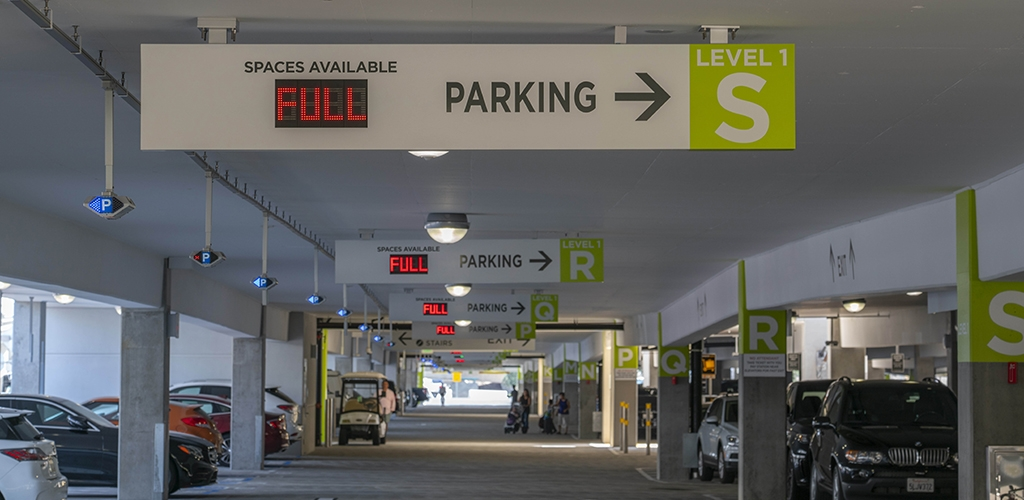 Slideshow image for San Diego International Airport  Terminal 2 Parking Plaza