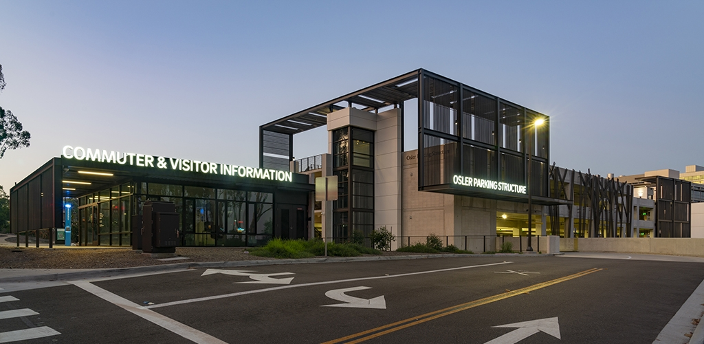 Slideshow image for UCSD Osler Parking Structure & Visitor's Center