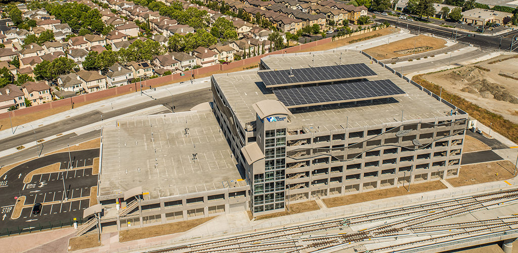 Slideshow image for VTA Berryessa Station Parking Structure