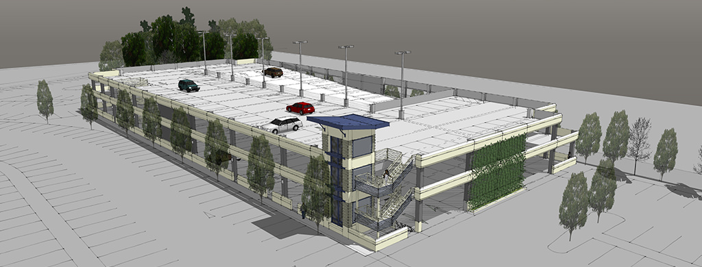 Slideshow image for Century Centre Parking Structure
