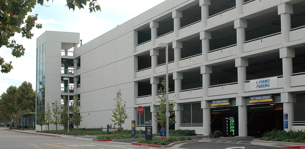 Slideshow image for Santa Clara Valley Medical Center Parking Structure #2