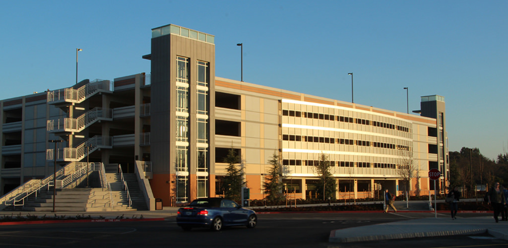Slideshow image for American River College Parking Structure