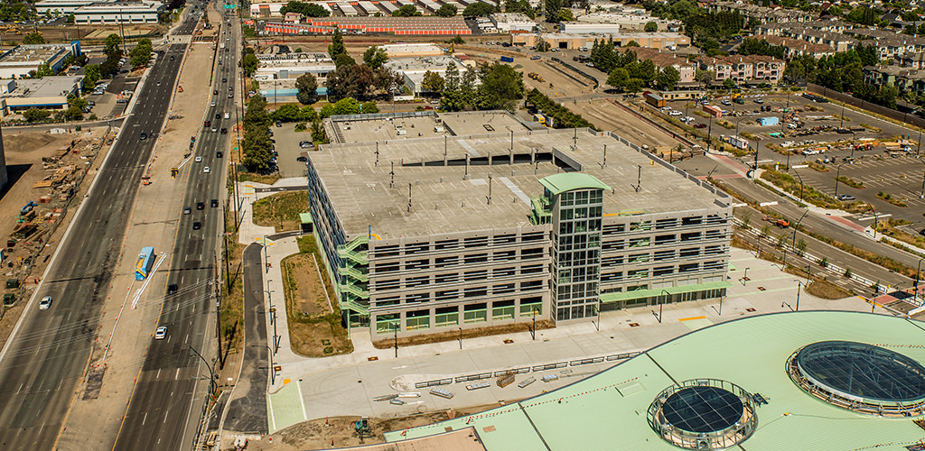 VTA Milpitas Station Parking Structure | Watry Design, Inc