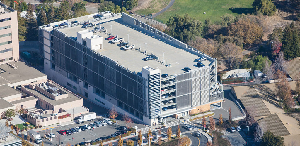 Slideshow image for John Muir Medical Center  Parking Structure