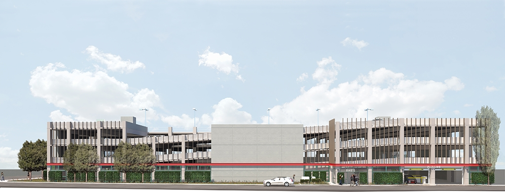 Slideshow image for 1470 Owens Parking Structure